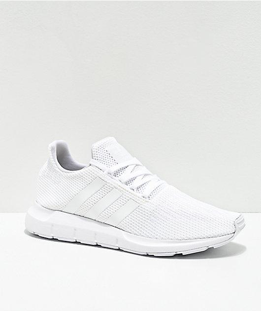 adidas Swift Run zapatos blancos para hombres