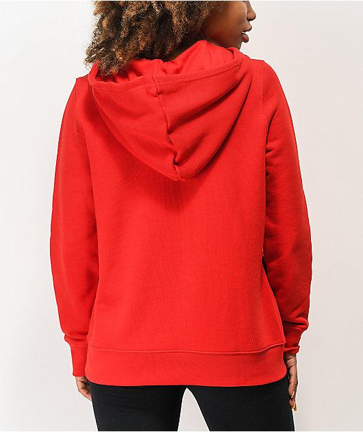 adidas Trefoil Scarlet Hoodie