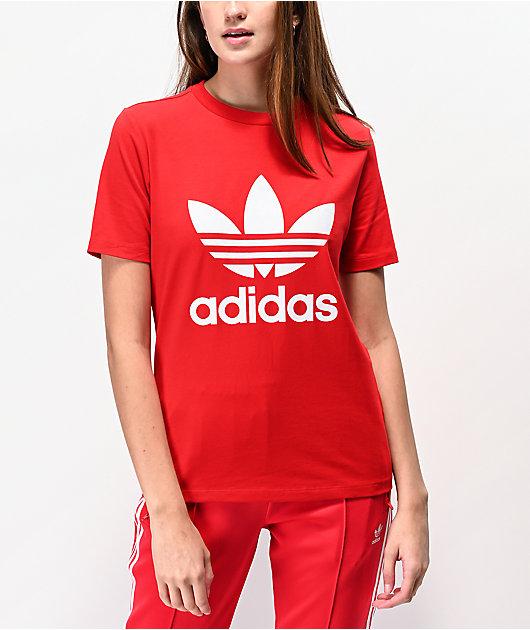 adidas Trefoil Scarlet T-Shirt