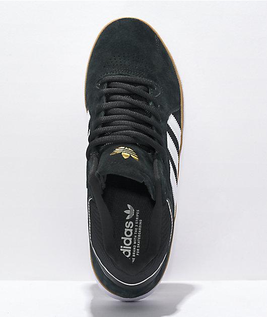 adidas Tyshawn Black, White & Gum Shoes