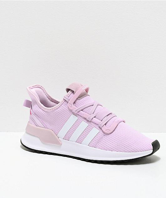 adidas U Path Run Aero Pink Shoes   Zumiez