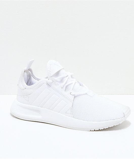 adidas Xplorer All White Shoes