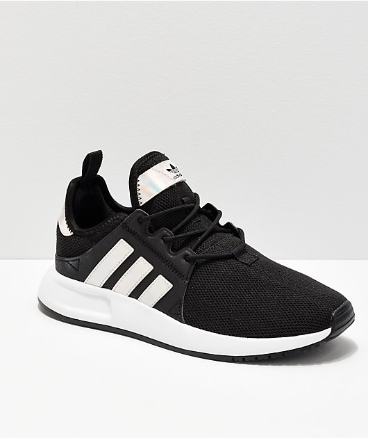 adidas Xplorer Black & Metallic Shoes