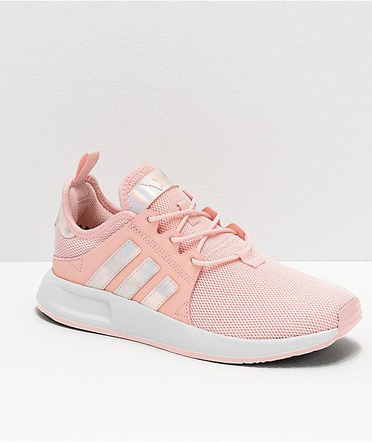 adidas Xplorer Pink \u0026 Metallic Shoes