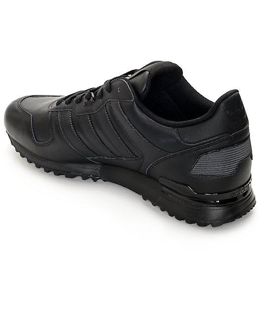 adidas ZX 700 Black Shoes | Zumiez