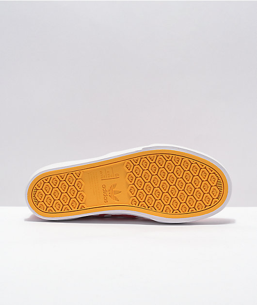 adidas x Disney Court Rallye Minnie Red Slip-On Shoes
