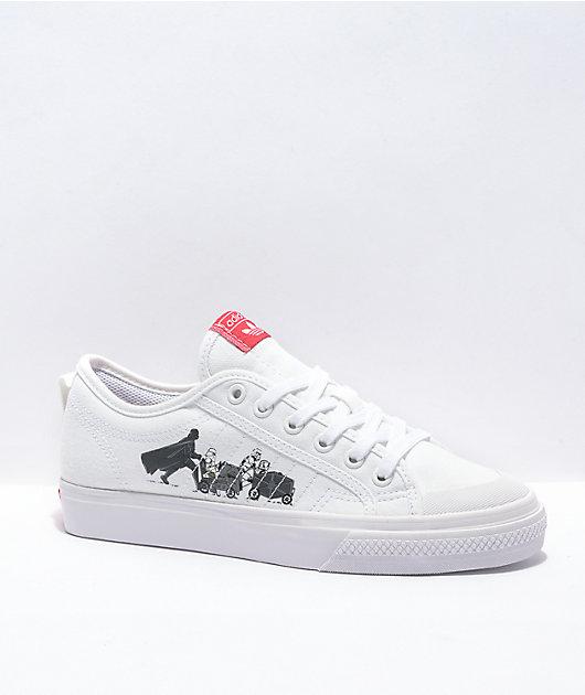 adidas x Star Wars Nizza White Shoes