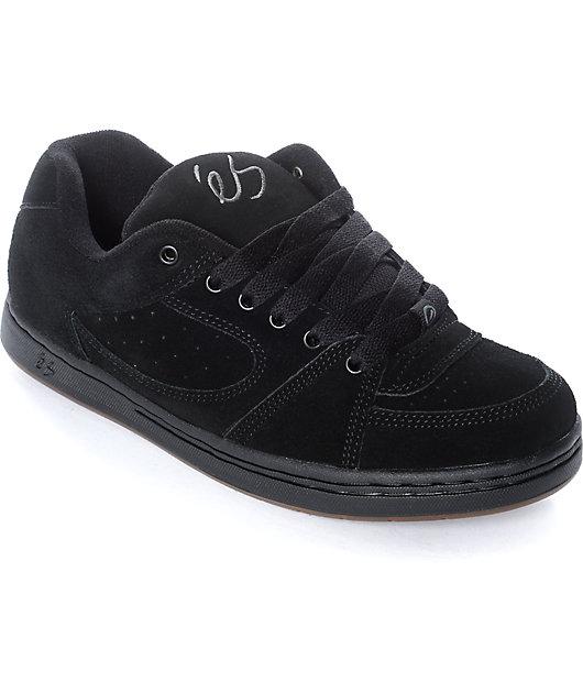 eS Accel OG Black \u0026 Gum Skate Shoes