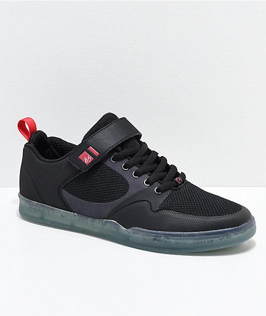 eS Accel Plus Everstitch Black & Blue Shoes