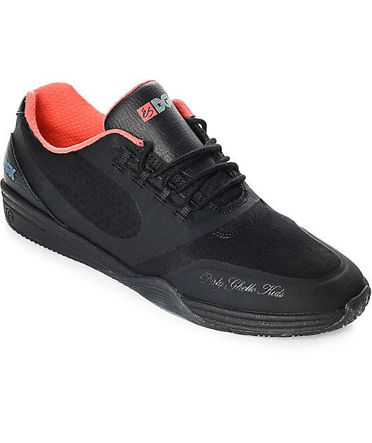 eS x DGK Sesla Black \u0026 Pink Skate Shoes