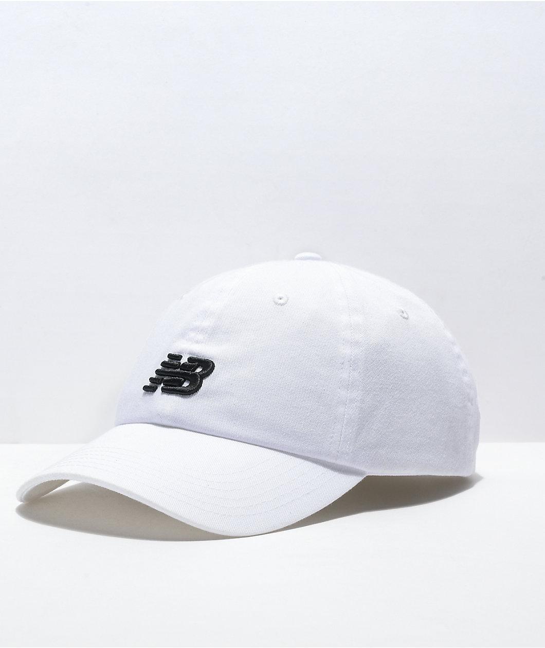 New Balance Lifestyle White Strapback Hat
