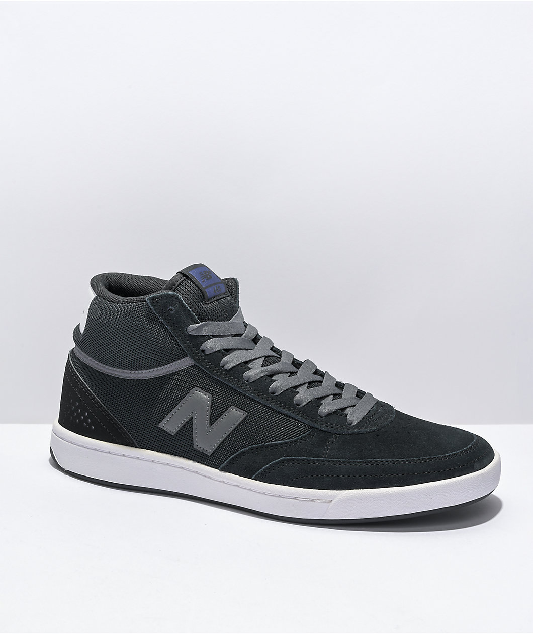 New Balance Numeric 440 High Top Black & Grey Skate Shoes