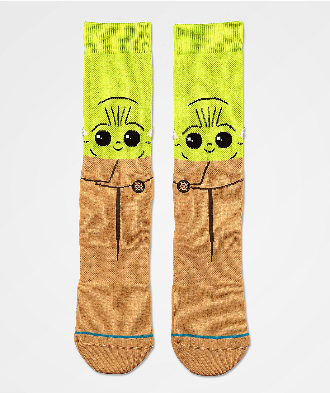 Pair of socks featuring baby Grogu