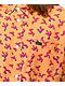 RVCA Slappy Gold Woven Short Sleeve Button Up Shirt